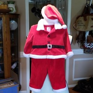 Baby Santa Suit,  6 /9 m
